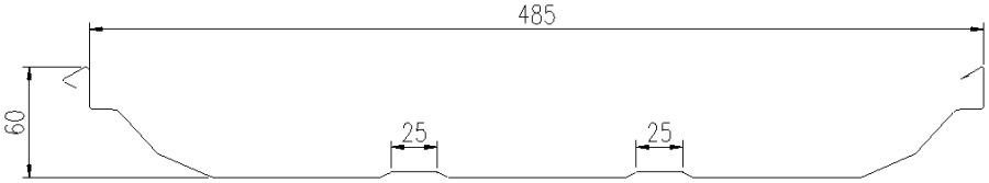 Tôn sóng Seam-lock